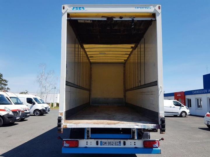 Trailer Asca S219CA Box body BI-TRAIN FOURGON CARGO-ROUTE BLANC - BLEU - 12
