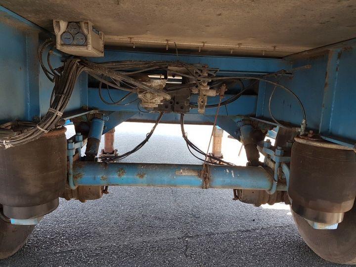 Trailer Asca S219CA Box body BI-TRAIN FOURGON CARGO-ROUTE BLANC - BLEU - 14