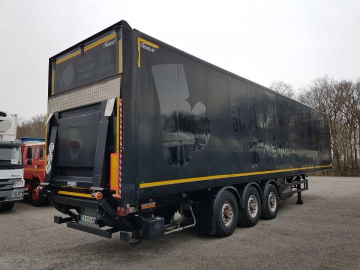 Trailer Samro Box body + Lifting Tailboard Fourgon 90m3 + hayon 2500 kg NOIR - 2