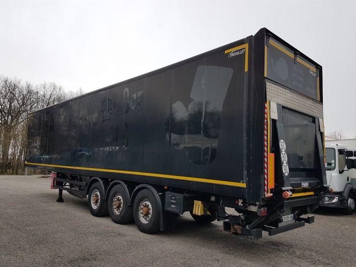 Trailer Samro Box body + Lifting Tailboard Fourgon 90m3 + hayon 2500 kg NOIR - 4