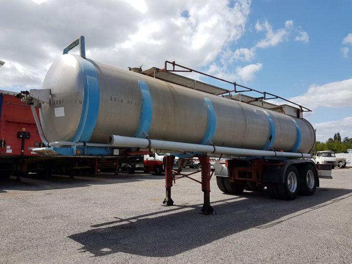 Trailer BSL Chemical Tanker CITERNE A GOUDRON GRIS - BLEU - ROUGE - 1