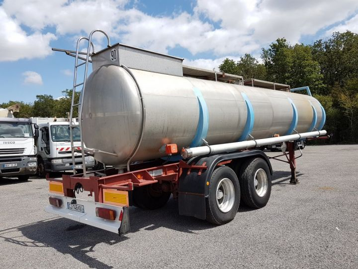 Trailer BSL Chemical Tanker CITERNE A GOUDRON GRIS - BLEU - ROUGE - 2