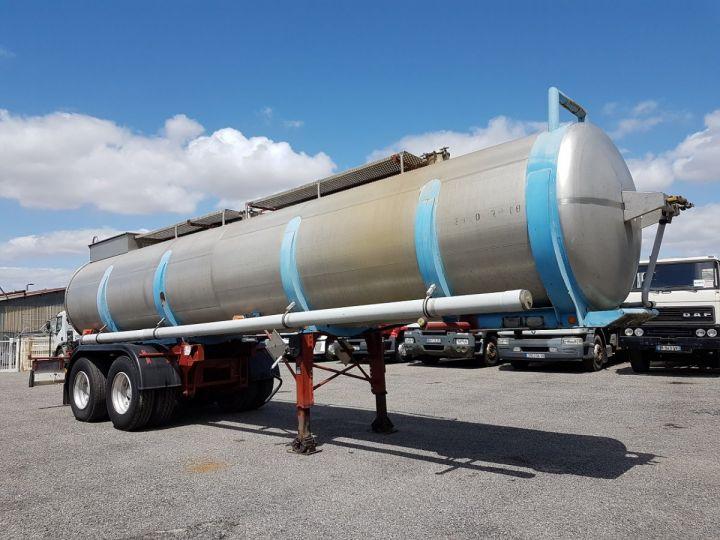 Trailer BSL Chemical Tanker CITERNE A GOUDRON GRIS - BLEU - ROUGE - 3