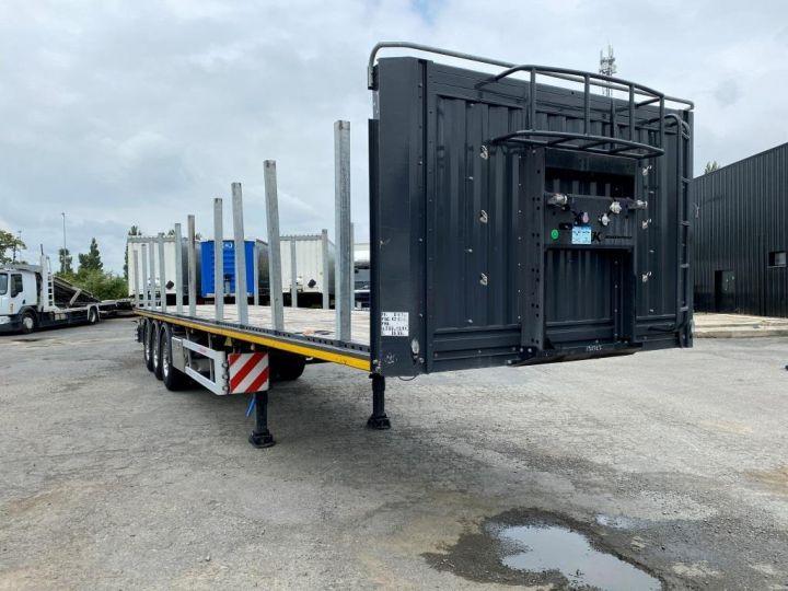Trailer Kässbohrer Container carrier body KASSBOHRER 3 ESSIEUX PLATEAU MULTIMODAL PORTE CONTENEURS  - 2