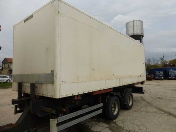 Trailer Lecitrailer Container carrier body LECITRAILER BLANC - 2