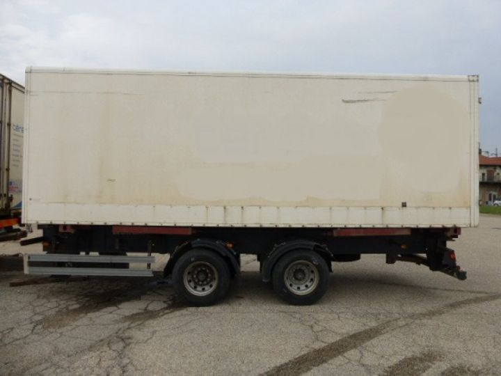 Trailer Lecitrailer Container carrier body LECITRAILER BLANC - 3