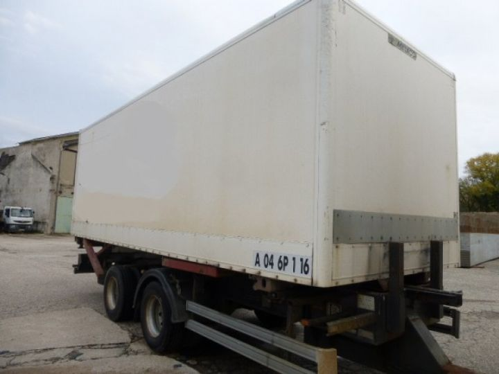 Trailer Lecitrailer Container carrier body LECITRAILER BLANC - 4