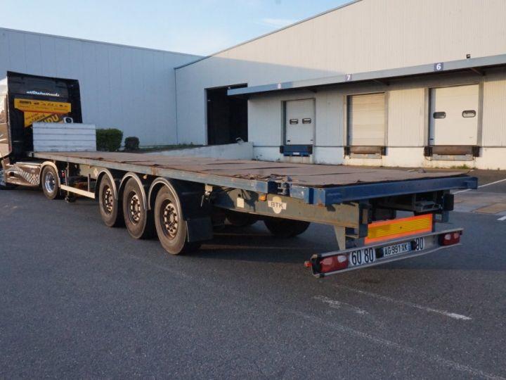 Trailer Container carrier body Plateau Bleu - 3