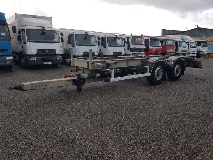 Trailer Samro Container carrier body PORTE-CAISSE MOBILE 7m82 GRIS - 1