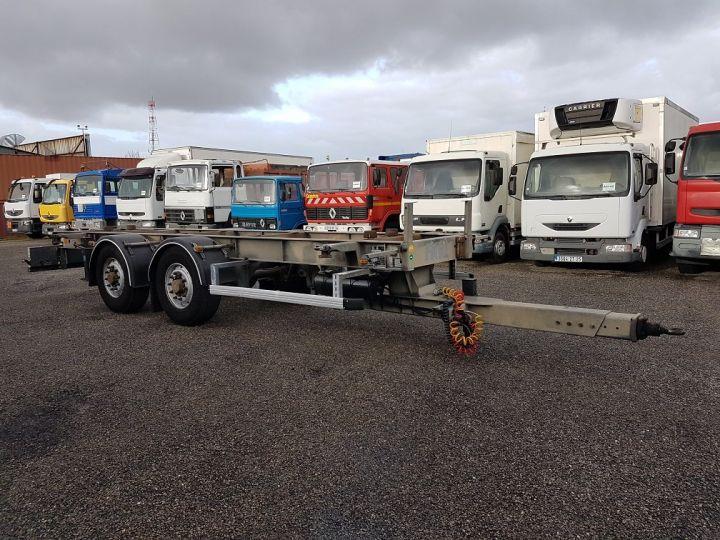 Trailer Samro Container carrier body PORTE-CAISSE MOBILE 7m82 GRIS - 3