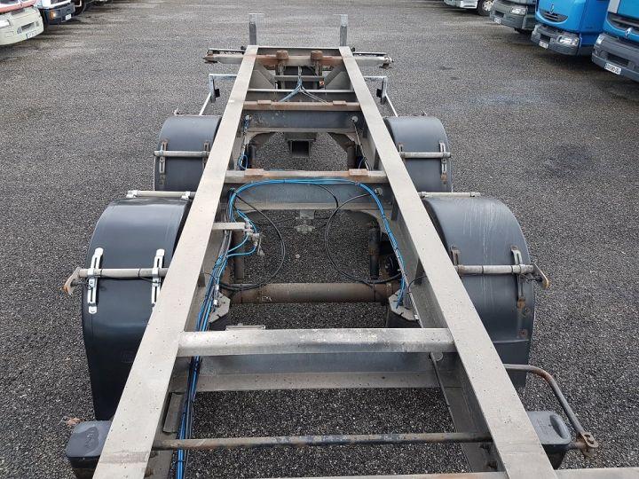 Trailer Samro Container carrier body PORTE-CAISSE MOBILE 7m82 GRIS - 9