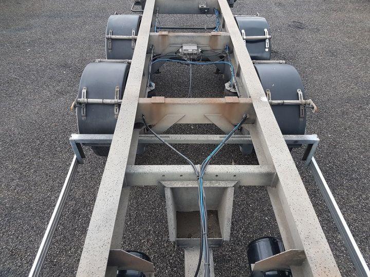 Trailer Samro Container carrier body PORTE-CAISSE MOBILE 7m82 GRIS - 11