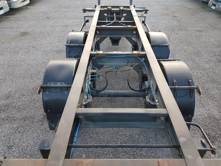 Trailer Samro Container carrier body PORTE-CAISSE MOBILE 7m82 GRIS - 7