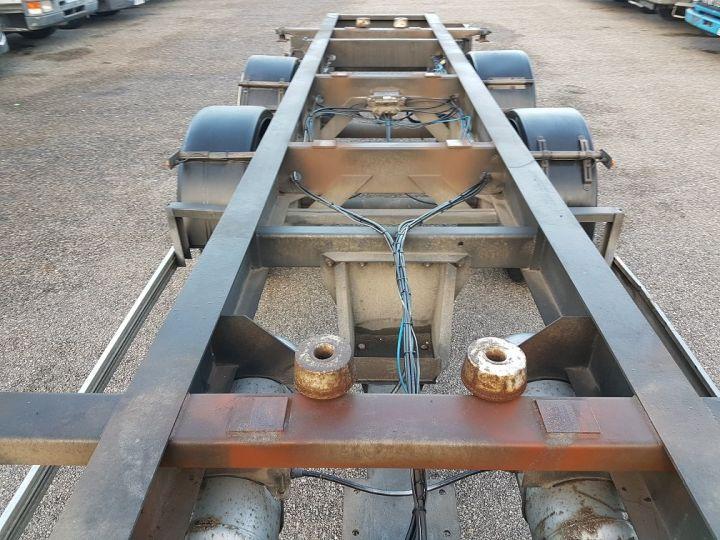Trailer Samro Container carrier body PORTE-CAISSE MOBILE 7m82 GRIS - 8