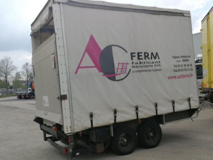 Trailer Fournier Curtain side body REMORQUE JPM  R35D 3.5 T  - 1