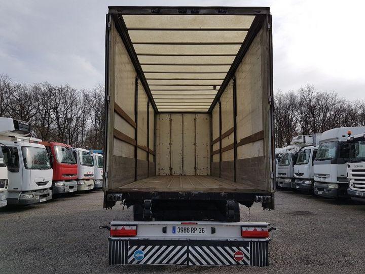 Trailer Fruehauf Curtain side body P.L.S.C. RIDELLES - 3 essieux BLANC - NOIR - GRIS - 6