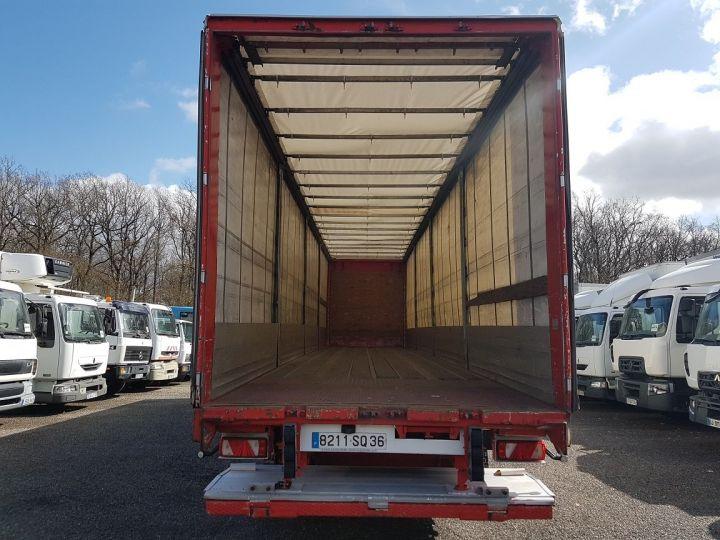 Trailer Fruehauf TX 34 Curtain side body P.L.S.C. à ridelles + HAYON BLANC ET ROUGE - 6