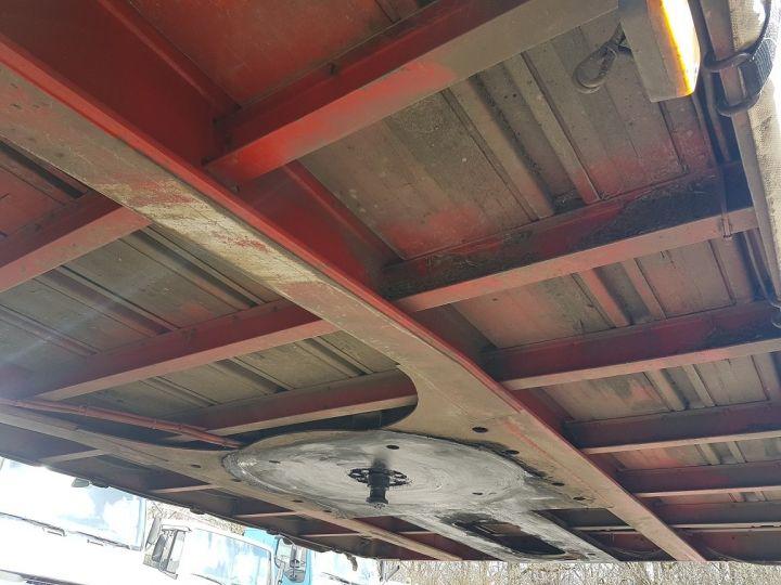 Trailer Fruehauf TX 34 Curtain side body P.L.S.C. à ridelles + HAYON BLANC ET ROUGE - 15