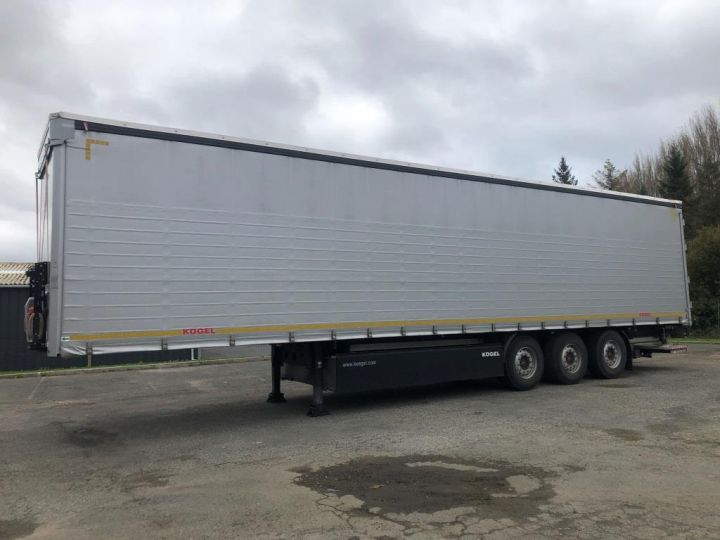 Trailer Kogel Curtain side body 3 ESSIEUX PLSC HAYON ELEVATEUR GRIS - 1