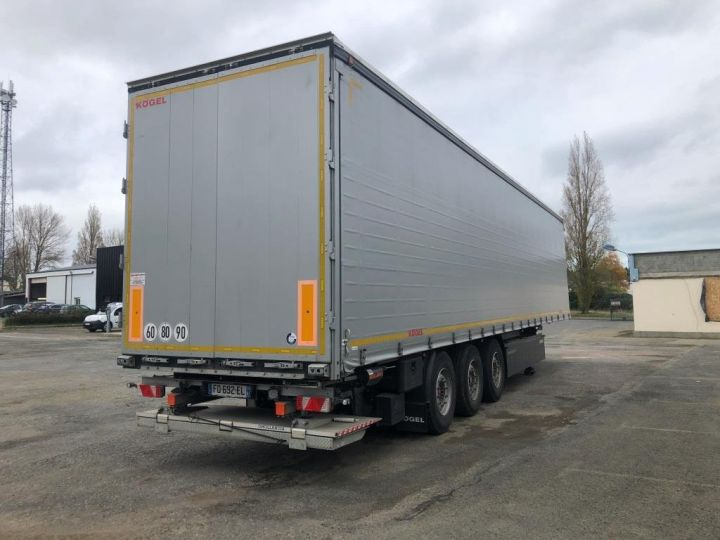 Trailer Kogel Curtain side body 3 ESSIEUX PLSC HAYON ELEVATEUR GRIS - 2