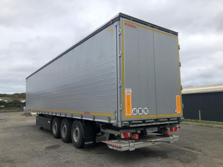 Trailer Kogel Curtain side body 3 ESSIEUX PLSC HAYON ELEVATEUR GRIS - 3