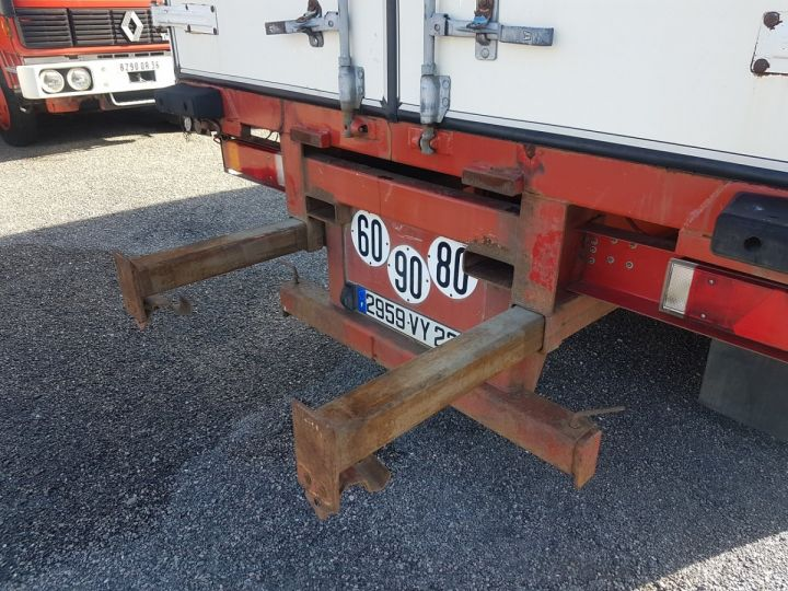 Trailer Leveques Curtain side body P.L.S.C. 10m40 PORTE-CHARIOT MANITOU BLANC - ROUGE - 6