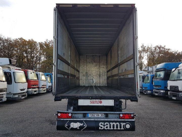 Trailer Samro Curtain side body Remorque 3 essieux P.L.S.C. à ridelles 8m20 BLANC - GRIS - NOIR - 6