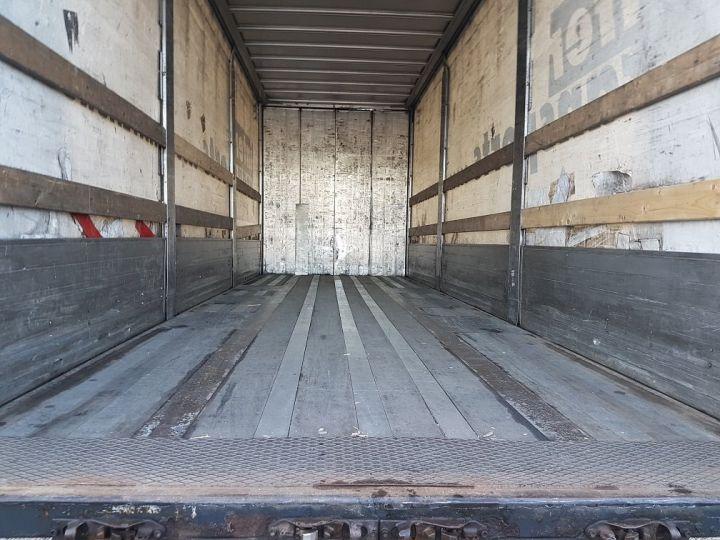 Trailer Samro Curtain side body Remorque 3 essieux P.L.S.C. à ridelles 8m20 BLANC - GRIS - NOIR - 7