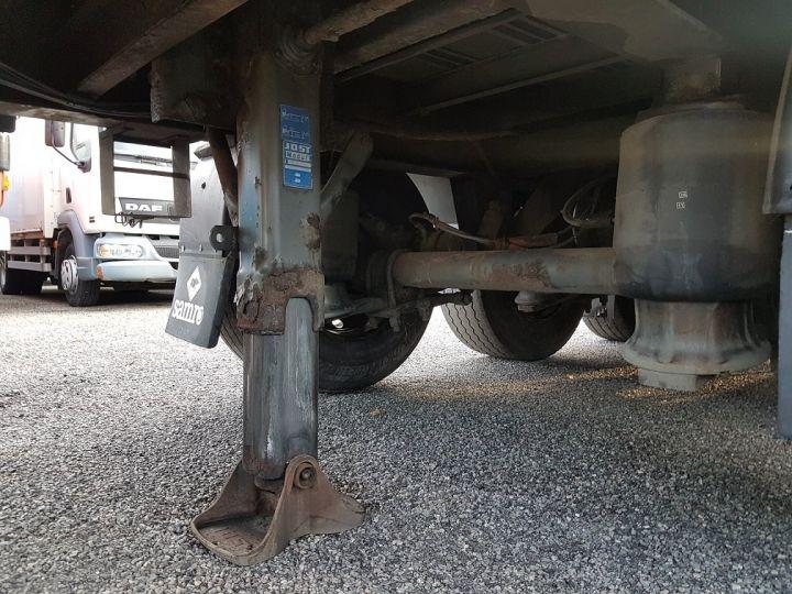 Trailer Samro Curtain side body Remorque 3 essieux P.L.S.C. à ridelles 8m20 BLANC - GRIS - NOIR - 13