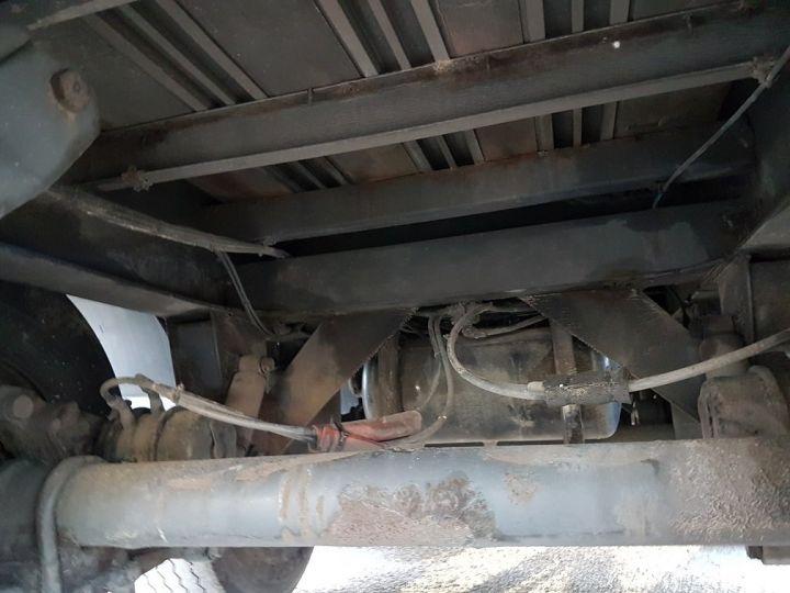 Trailer Samro Curtain side body Remorque 3 essieux P.L.S.C. à ridelles 8m20 BLANC - GRIS - NOIR - 15
