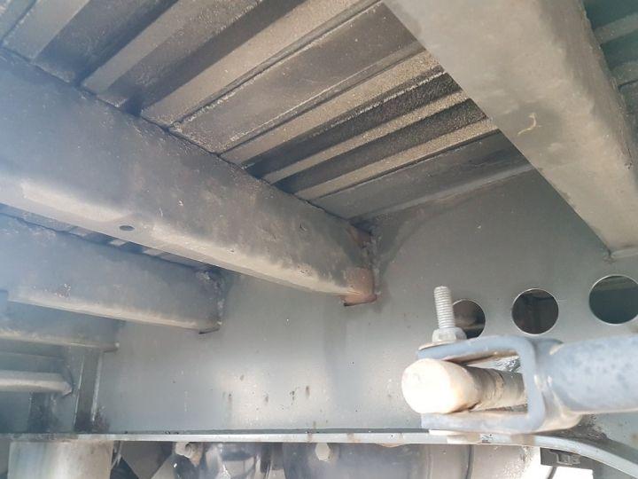 Trailer Samro Curtain side body Remorque 3 essieux P.L.S.C. à ridelles 8m20 BLANC - GRIS - NOIR - 18