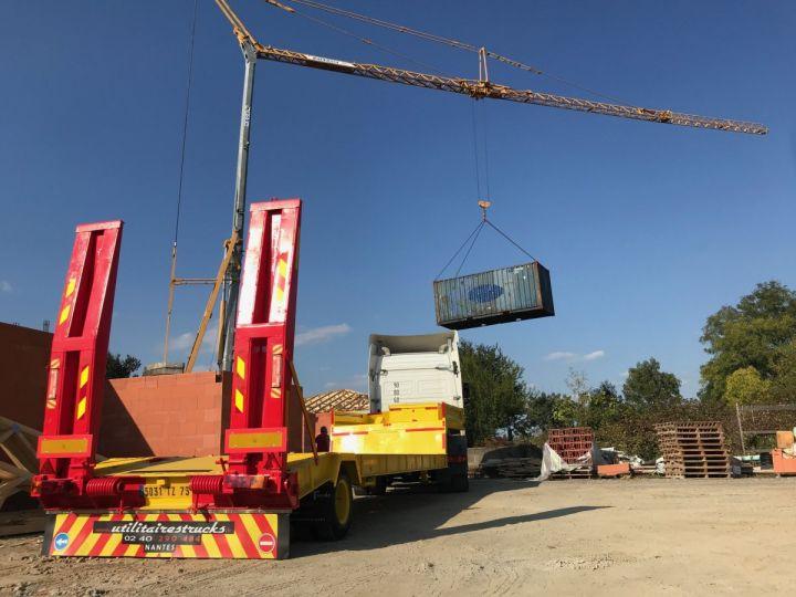 Trailer Actm Heavy equipment carrier body Jaune et rouge - 1