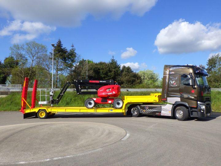 Trailer Actm Heavy equipment carrier body Jaune et rouge - 4