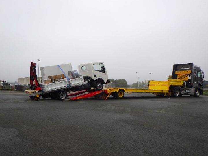 Trailer Actm Heavy equipment carrier body Jaune et rouge - 5