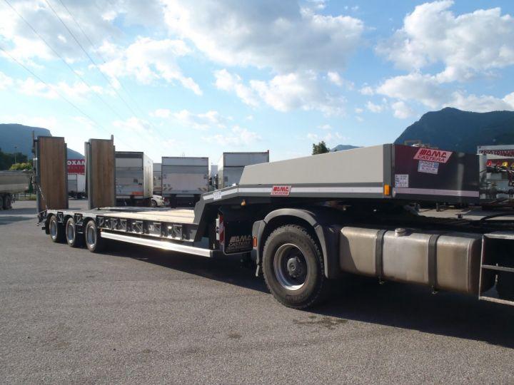 Trailer AMC Castera Heavy equipment carrier body porte-engins 3 essieux  - 10