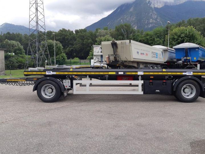 Trailer Trax Hookloader Ampliroll body porte-caisson NEUVE et DISPO Gris foncé - 2