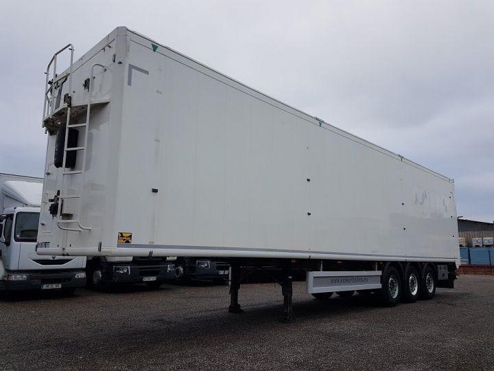 Trailer Moving floor body FMA 92m3 BLANC - 1