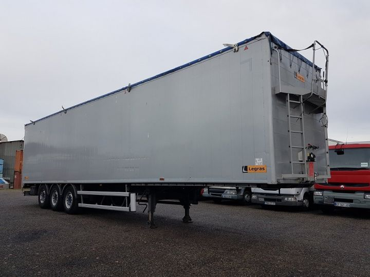 Trailer Legras Moving floor body FMA 90m3 GRIS - 3