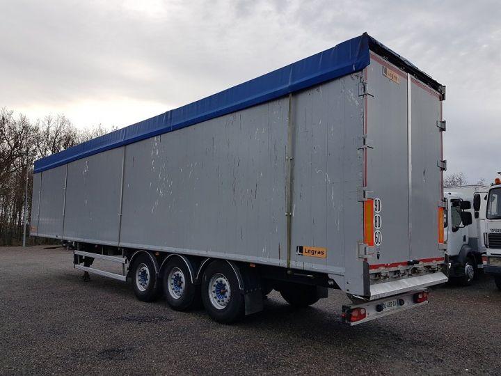 Trailer Legras Moving floor body FMA 90m3 GRIS - 4