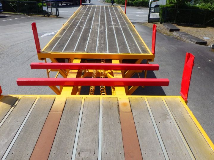 Trailer Platform body Jaune - 5