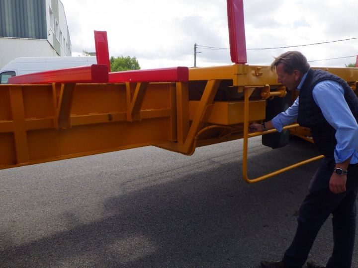 Trailer Platform body Jaune - 6