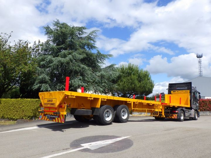 Trailer Platform body Jaune - 8