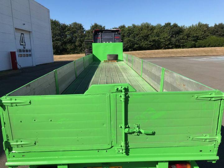 Trailer Fruehauf Platform body Vert - 5