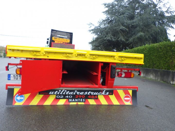 Trailer General Trailers Platform body Rouge et jaune - 2