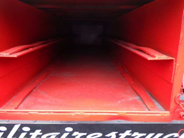 Trailer General Trailers Platform body Rouge et jaune - 3