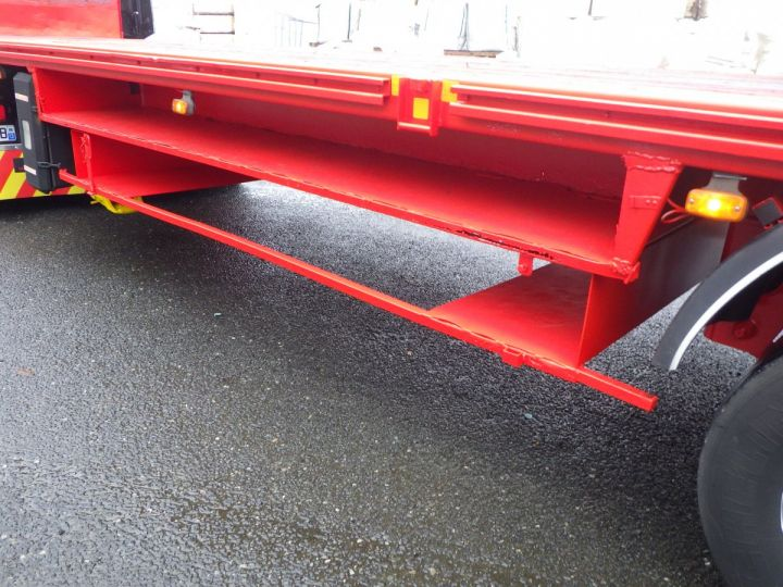 Trailer General Trailers Platform body Rouge et jaune - 6