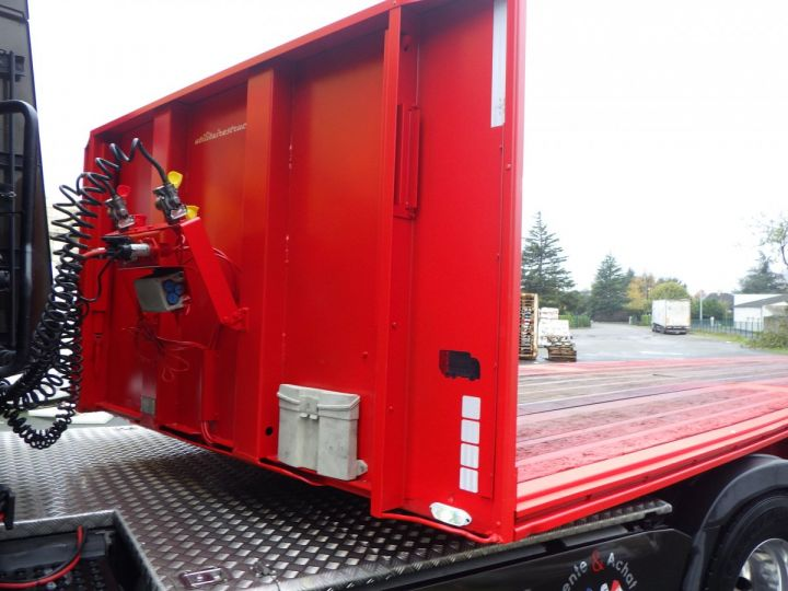 Trailer General Trailers Platform body Rouge et jaune - 7