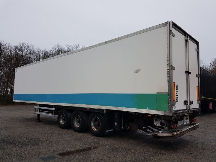 Trailer Lamberet Refrigerated body Frigorifique CARRIER MAXIMA 2 BLANC - VERT - 4