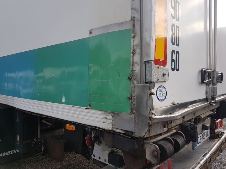 Trailer Lamberet Refrigerated body Frigorifique CARRIER MAXIMA 2 BLANC - VERT - 10