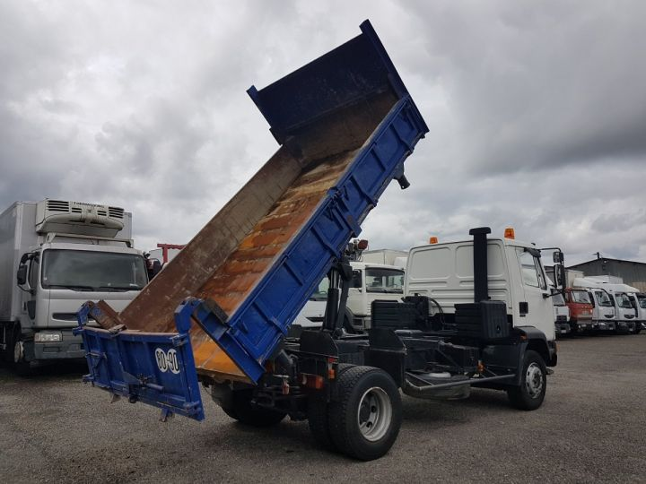 Trucks Daf FA55 2/3 way tipper body 15.210 ATI BLANC - BLEU - 3